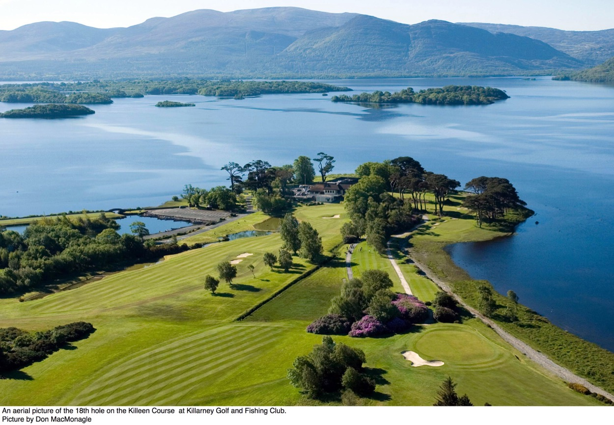 Killarney golf and fishing club killarney ireland for Fishing in ireland