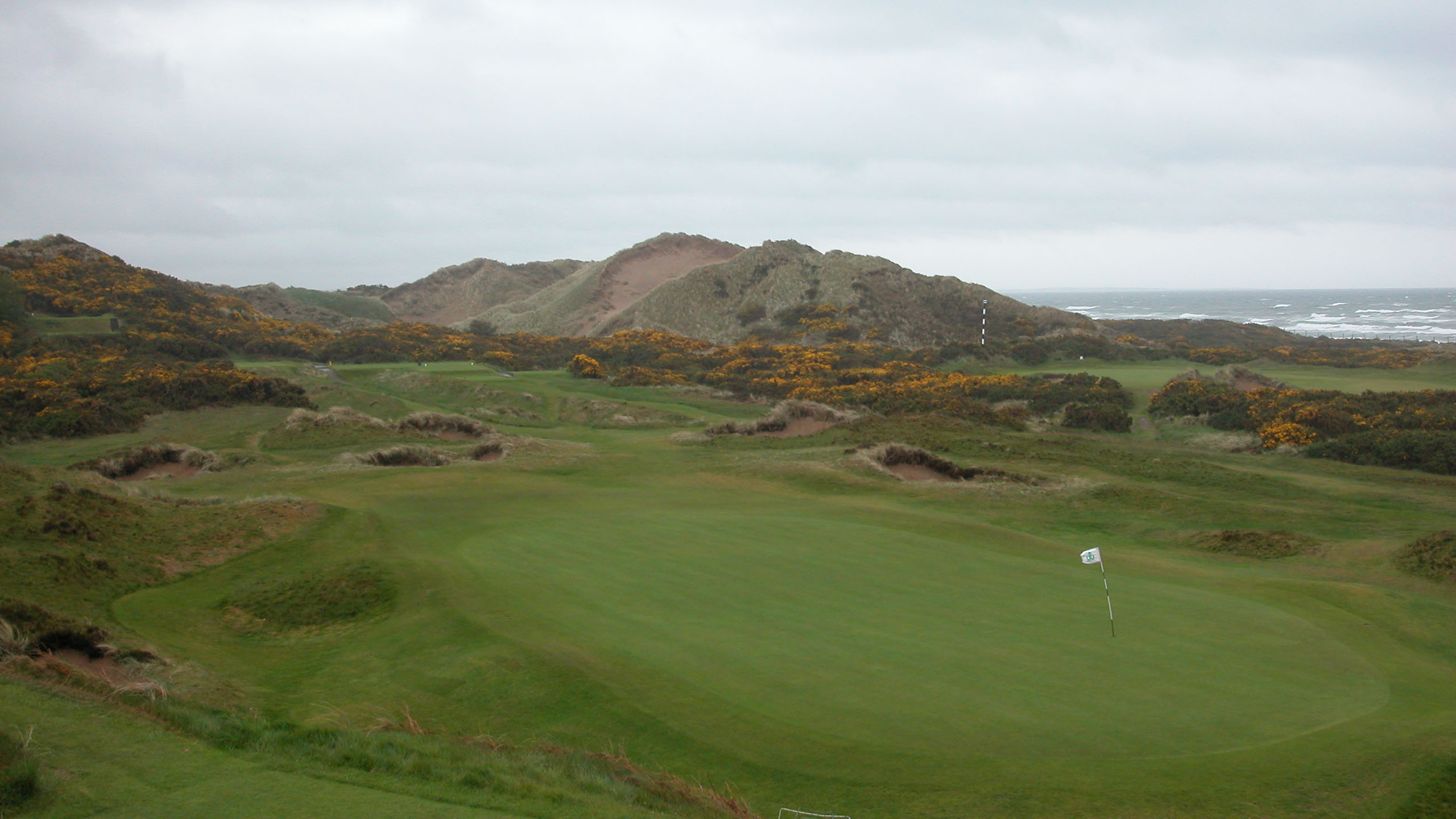 royal county down golf club  newcastle northern ireland